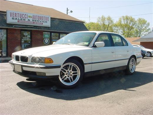 Used BMW 7 Series Sedan 4D 740i 1998