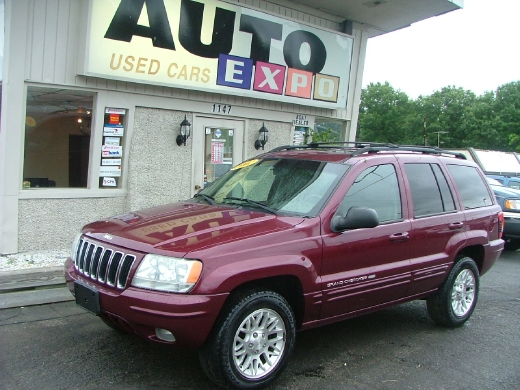 Used Jeep Grand Cherokee-6 Cyl. Utility 4D Limited 4WD 2002