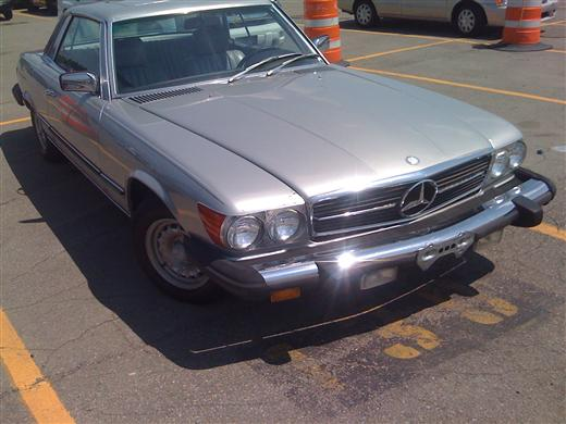 Used Mercedes-Benz 380 Series 2dr Cpe Auto 1981 | J & A Auto Center. Raynham, Massachusetts
