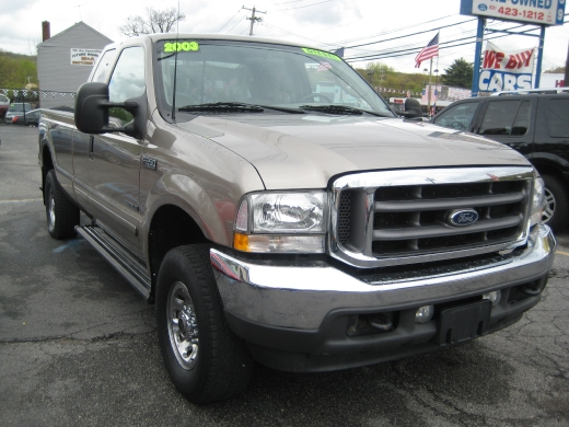 """2003 Ford Super Duty F-250 DIESEL Supercab 158"""" XLT 4WD, available for sale in Huntington, NY"""