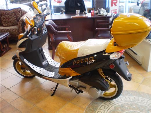 2008 PREGO 150 CC LIMITED, available for sale in Hicksville, NY
