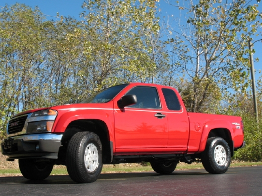 "Used GMC Canyon Ext Cab 125.9"" WB SL Z71 2005"