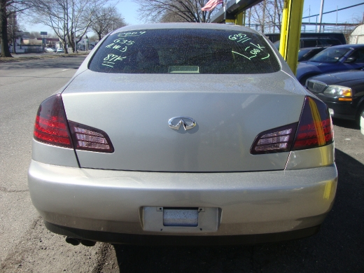 2004 Infiniti G35 Sedan 4dr Sdn AWD Auto w/Leather, available for sale in Rosedale, New York | Sunrise Auto Sales. Rosedale New York