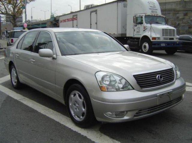Used Lexus Ls 430 4dr Sdn 2001