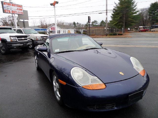 Used Porsche Boxster Roadster 5-Spd Manual 2001